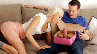 Donut ile seksi harmanladı