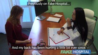 Sahte hastanede kadını siktiler